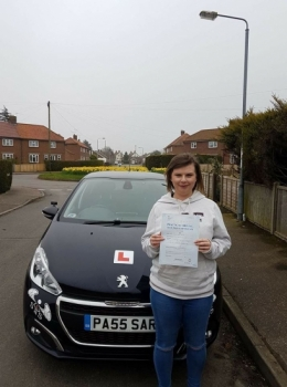 Passed 1st time with 2 Minor Faults<br />