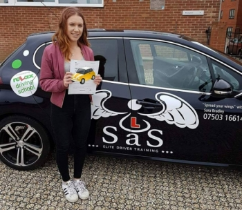 Passed 1st Time 3 Faults<br />