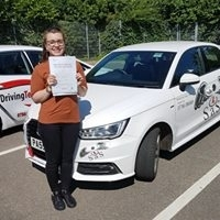 From Cromer Passed her test on 14th June 2017<br />